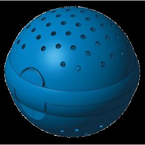 rendering della sfera per asiugatrici
